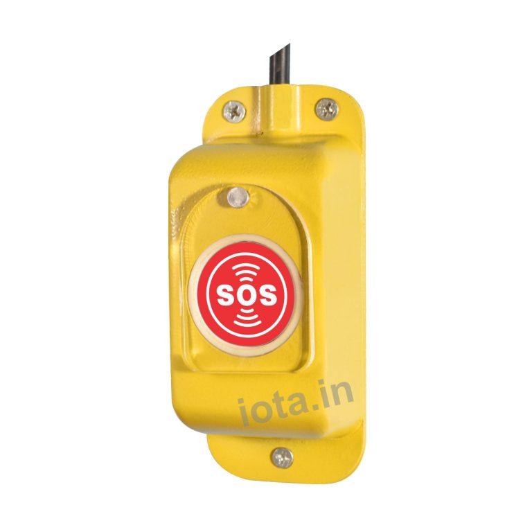 CRCA Panic Switch 'NC' iota709 (Yellow)